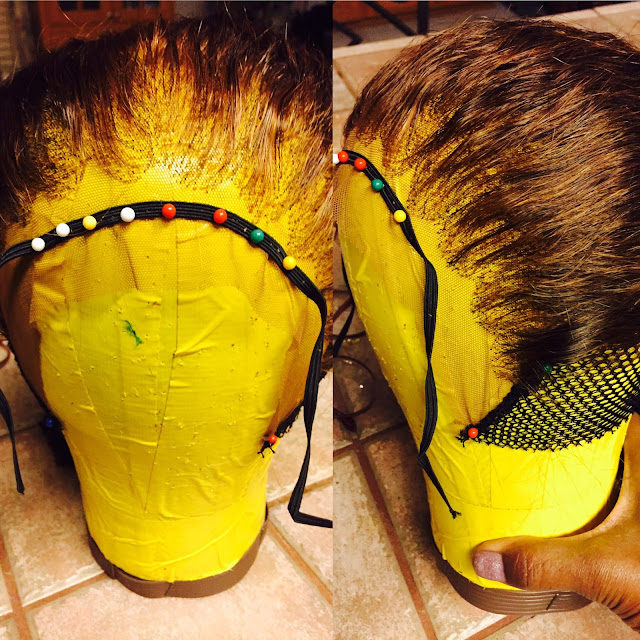 Ventilating with Brazilian Human Hair