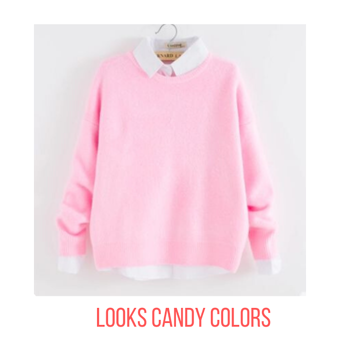 6 LOOKS CANDY COLORS