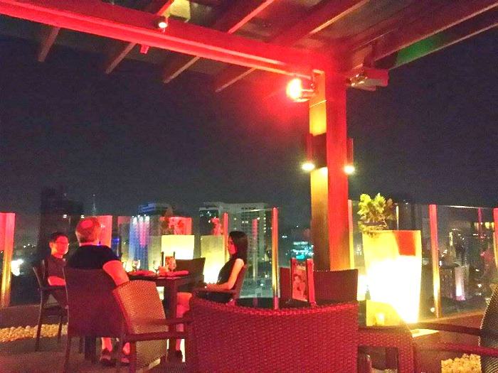 Highlights Bar & Restaurant at Harolds Hotel Roofdeck