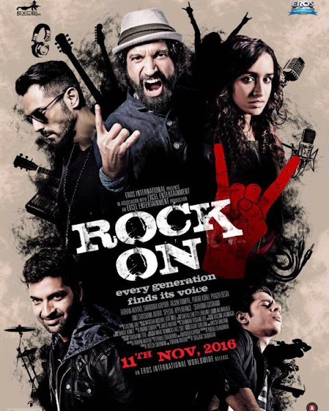 Rock On 2 (2016) Movie Poster