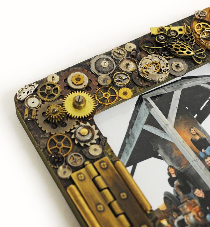 Ben Franklin Crafts and Frame Shop: D.I.Y. Steampunk Picture Frame