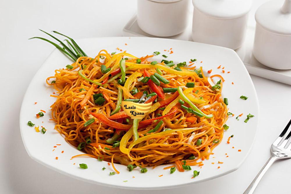 Veg Chow Mein Recipe in Hindi