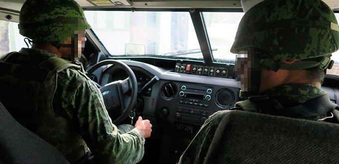 """""""Uno es el cazado y ellos son los cazadores"""" dice Capitán de la SEDENA"""
