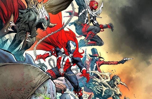 Spawn tiene muchos trajes y versiones diferentes en el cómic