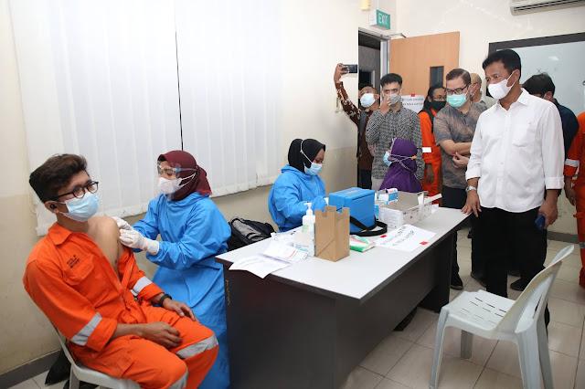 Rudi Harapkan Program Vaksinasi Yang Dilakukan Secara Masif Akan Mendukung Kepercayaan Investor Berinvestasi di Batam