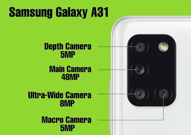 क्वाड कैमरे के साथ भारत मे लॉन्च हुआ Samsung A31