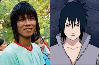 Mirip Anime! Inilah Artis Indonesia yang Wajahnya Menyerupai Sasuke Uchiha dari Anime Naruto!