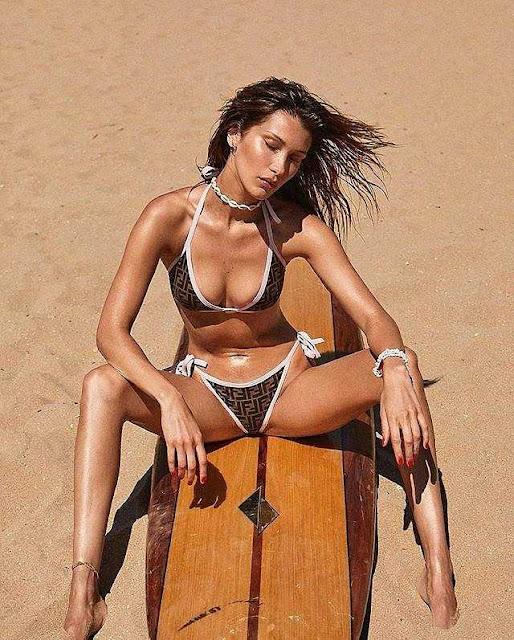 Bella Hadid khoe vóc dáng quyến rũ trên tạp chí Vogue