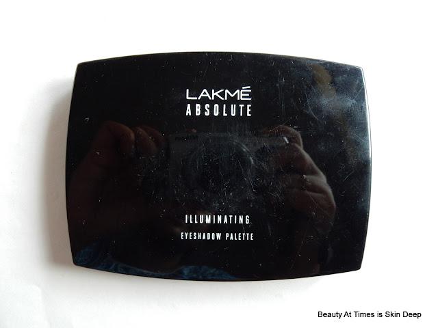 Lakme Absolute Illuminating Eye Shadow Palette Gold
