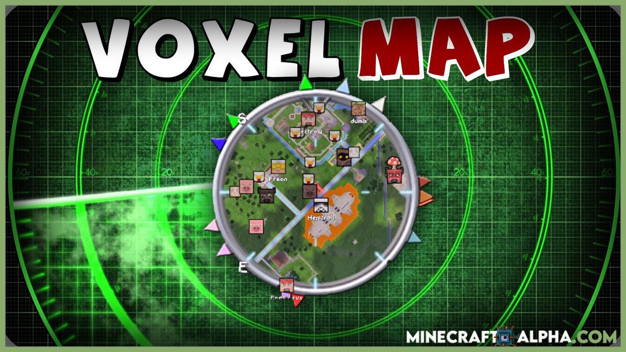 Minecraft VoxelMap Mod 1.17 (Minimap in Minecraft)