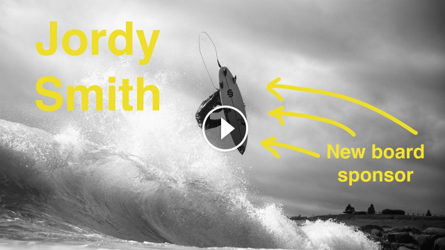 Jordy Smith s First Session On New Board SMTH Shapes Maytrix