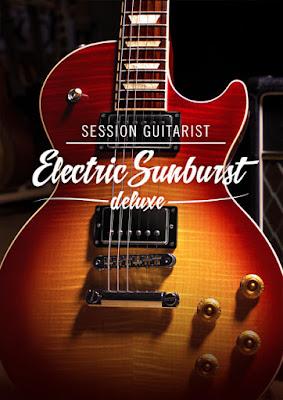 Cover da Library Native Instruments - Session Guitarist - Electric Sunburst Deluxe (KONTAKT)