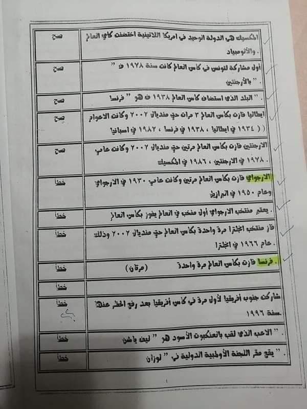 امتحان القدرات لكلية الاعلام 8