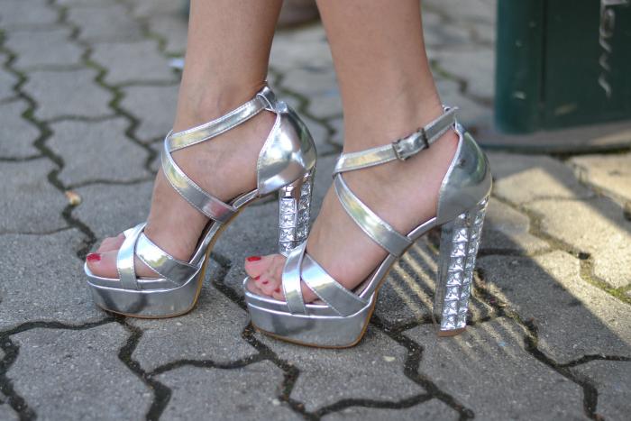 sandali argento tata italia