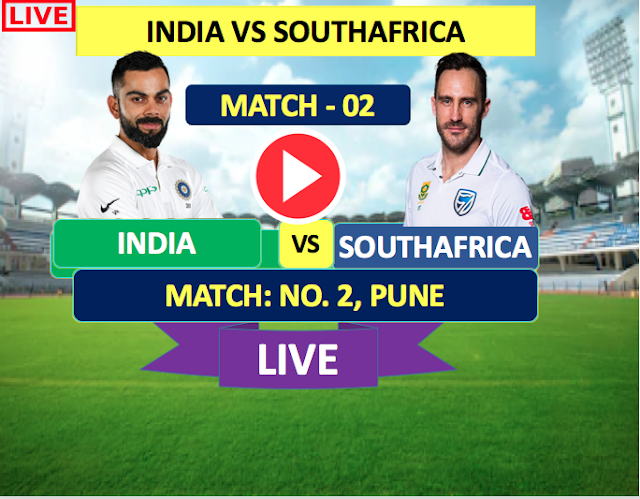 INDIA  vs SOUTH AFRICA ,2nd Test Match : Watch Live Cricket Streaming online