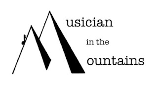 Musician in the Mountains