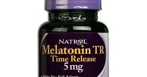bonanza natrol melatonin time release 5mg ubat tidur