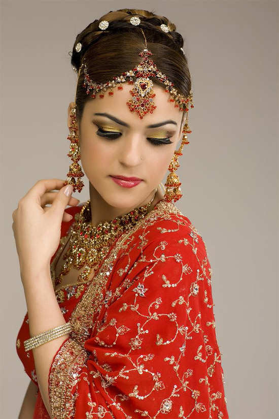 Indian Bridal Latest Hair Style Images 2013 World Latest