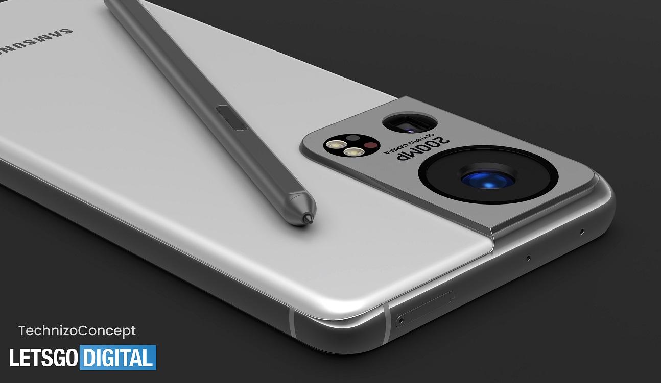Samsung Galaxy S22 Ultra, fotocamera Olympus da 200 MP e S Pen
