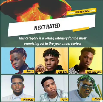 Zlatan Ibile Reacts To Headies Nomination Among Rema, Lyta, Fireboy, Joeboy And Victor AD