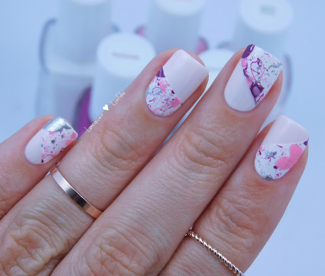 Essie Nail Art Pustekuchen Splatter Nails Nagel Design