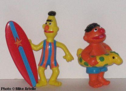Mikey's Muppet Memorabilia Museum: Sesame Street PVC Figures