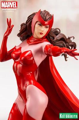 "Figuras: Abierto pre-order de ARTFX + Scarlet Witch de ""Marvel Comics"" - Kotobukiya"