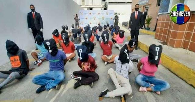 38 personas detenidas en La Vega y les ocultaron el rostro sin motivo aparente