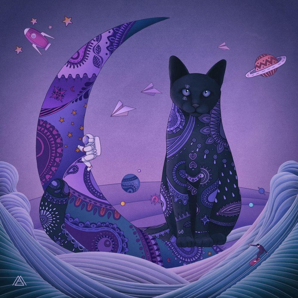 MAKTUB – Red Moon : Violet Night – Single
