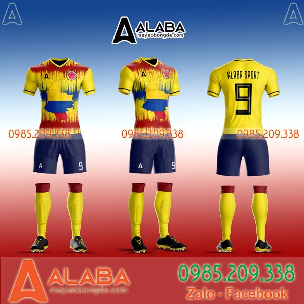Áo bóng đá đội tuyển Colombia