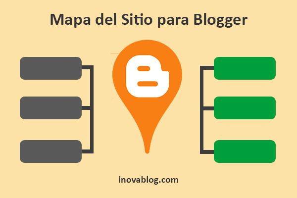 Mapa de sitio para blogger