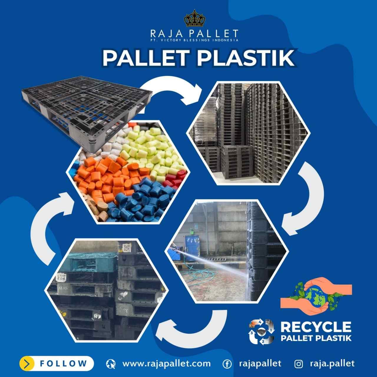 palleyt plastik daur ulang