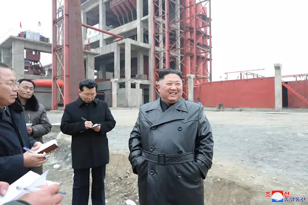 Kim Jong Un guides Sunchon Phosphatic Fertilizer Factory under construction