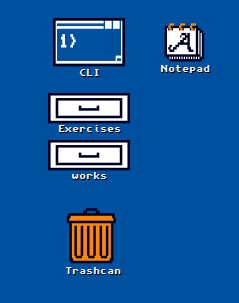 Old Machinery: Amiga Workbench icons on Linux desktop
