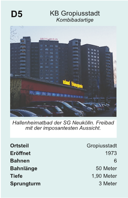 Quartettkarte Kombibad Gropiusstadt.