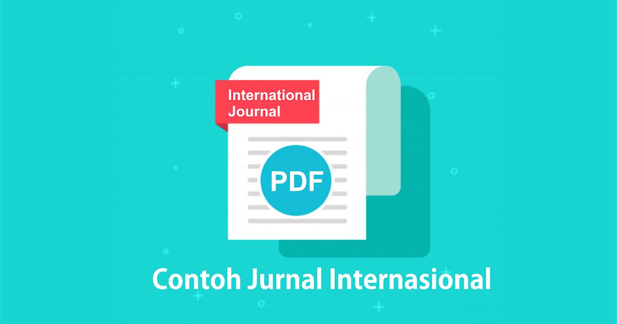 Contoh Jurnal Internasional PDF Bahasa Inggris tentang ...