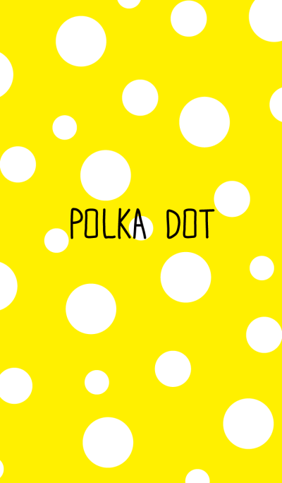 Polka dot-Yellow-joc