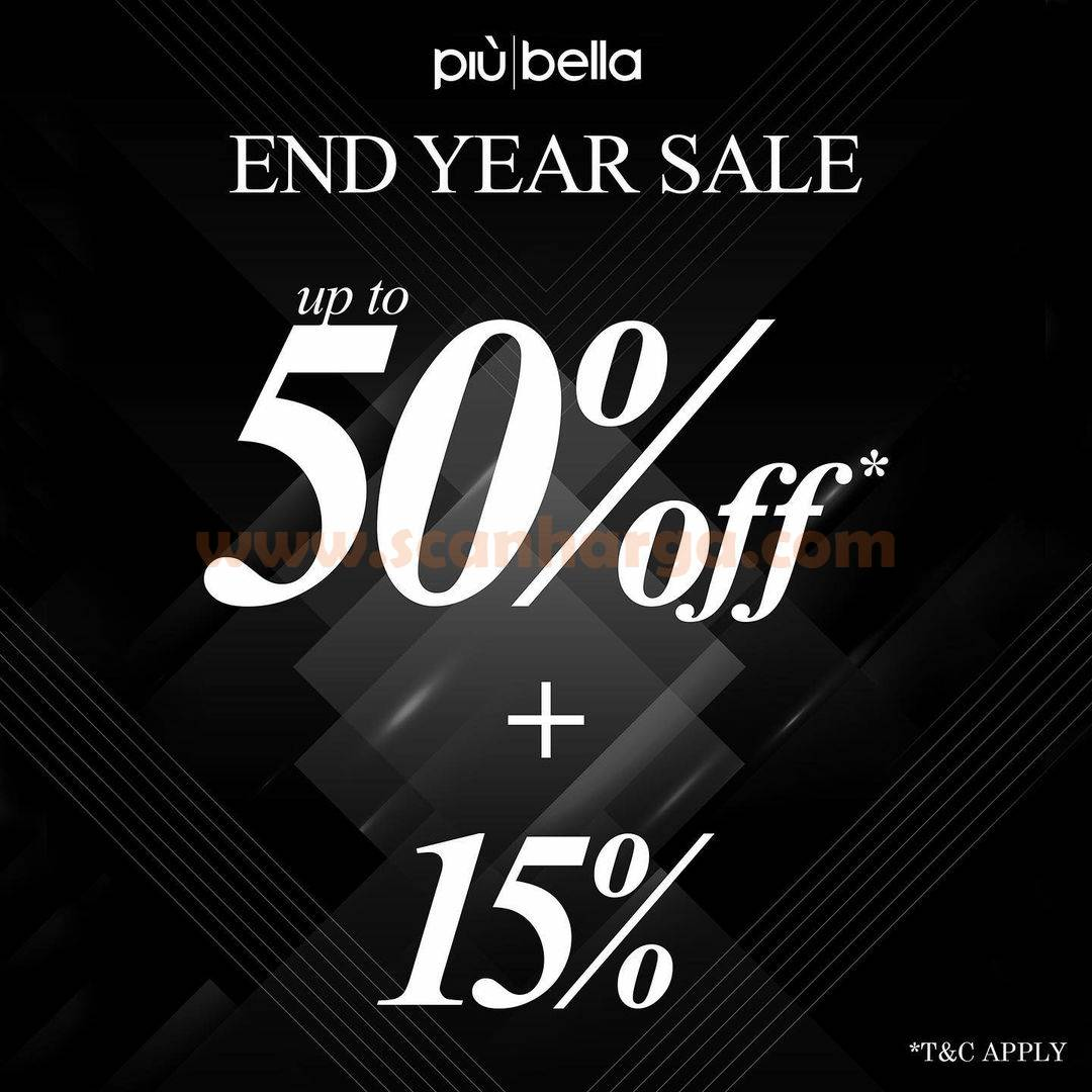Promo Piu Bella End Year Sale! Up To 50% Off + 15%