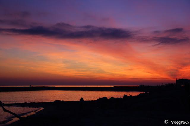 I meravigliosi colori del tramonto in Camargue