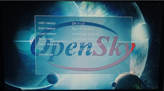 OPENSKY HD 265L 1507G 1G 8M NEW SOFTWARE WITH ECAST & NASHARE PRO OPTION