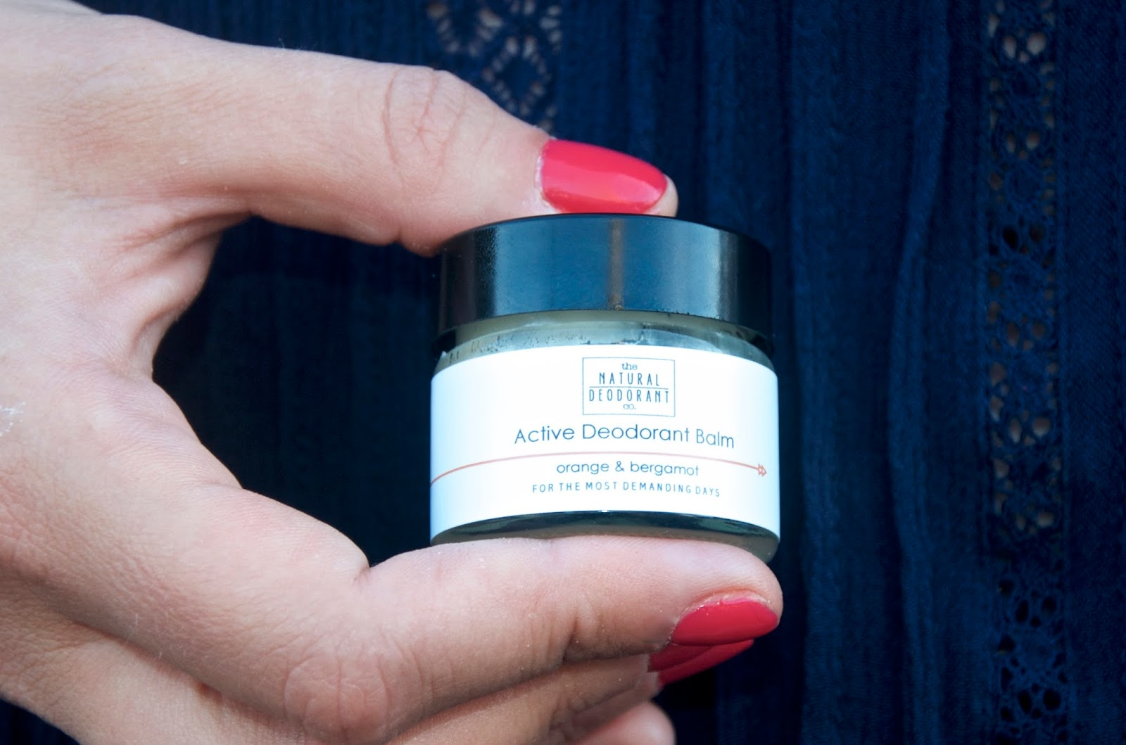 The Natural Deodorant Co. Active Balm in Orange & Bergamot