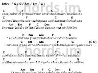 คอร์ดเพลง หนักใจ - Labanoon (ลาบานูน)