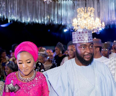 Photos from the wedding dinner of Fatima Dangote and Jamil Abubakar in Abuja