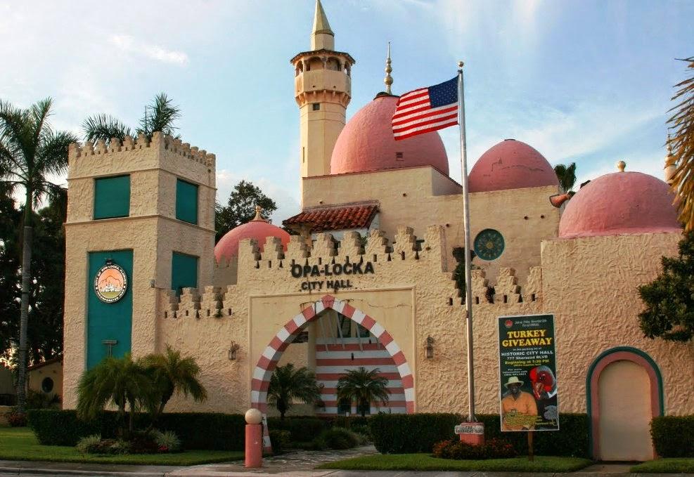 Opa-Locka em Miami na Flórida