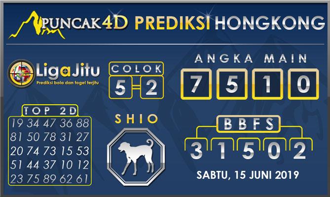 PREDIKSI TOGEL HONGKONG PUNCAK4D 15 JUNI 2019