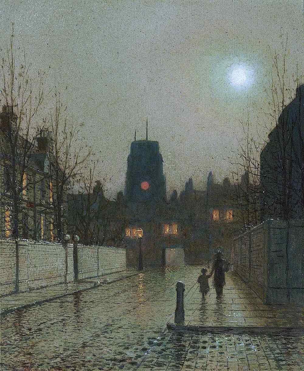 a John A. Grimshaw painting