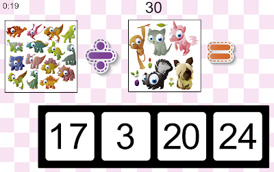 Math For Kids Game from Calculators.org