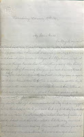 First page of Sargent's letter to Maria, 17 Dec 1862