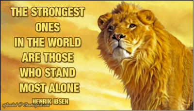Powerful Lion Quotes