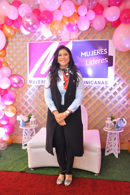 Nikauly de La Mota, presidenta de la organización Mujeres Líderes Dominicanas